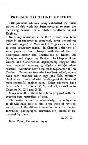 The design and construction of oil engines by Arthur Hugh Goldingham