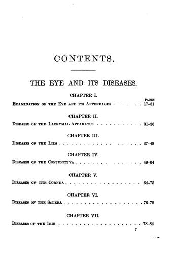 Diseases of the eye and ear by Arthur Nathaniel Alling