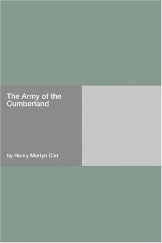 The Army of the Cumberland by Henry Martyn Cist