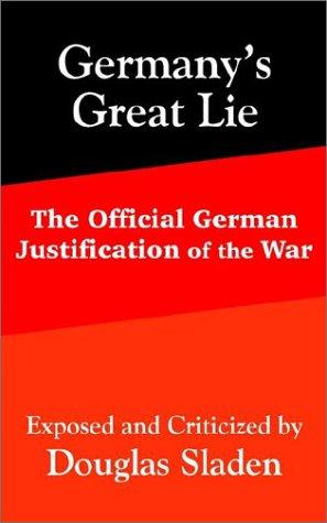 Germany's Great Lie