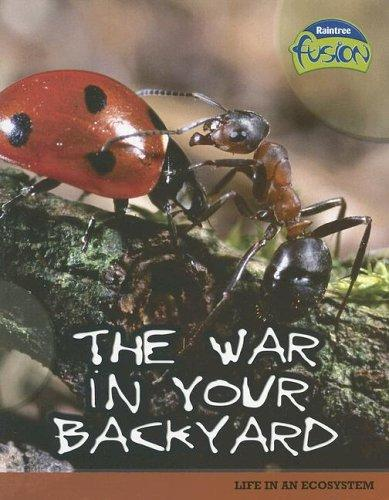 The War in Your Backyard by Louise Spilsbury, Richard Spilsbury