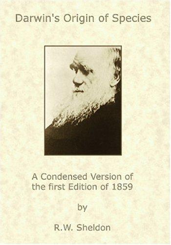 Darwin's Origin of Species by R.W. Sheldon