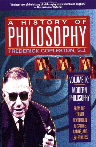 History of Philosophy, Volume IX by Frederick Charles Copleston