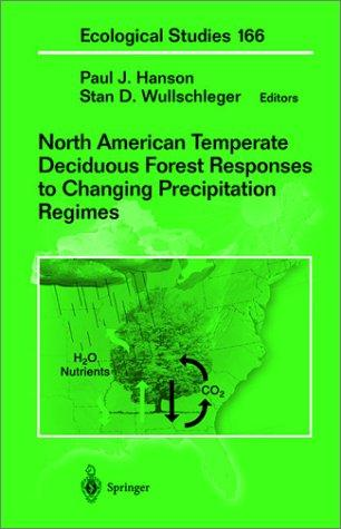 North American temperate deciduous forest responses to changing precipitation regimes by