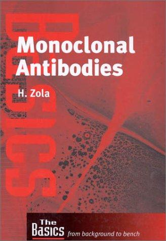 Monoclonal Antibodies: Preparation and Use of Monoclonal Antibodies and Engineered Antibody Derivatives (Basics: from Background to Bench) by Heddy Zola