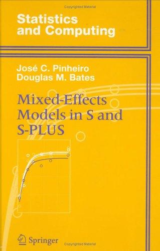 Mixed-effects models in S and S-PLUS by