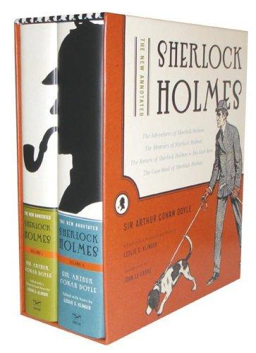 The new annotated Sherlock Holmes by Sir Arthur Conan Doyle