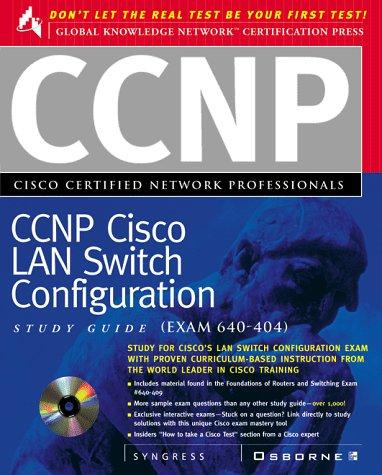CCNP Cisco Certified Network Professional by Syngress Media
