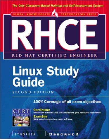 RHCE Red Hat Certified Engineer Linux Study Guide by Syngress Media