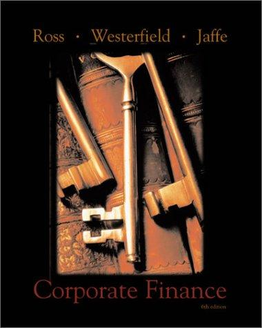 Corporate finance by Stephen A. Ross