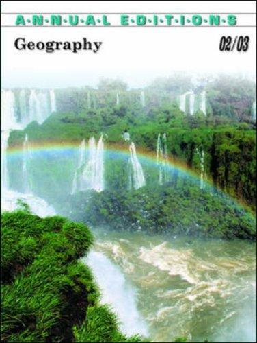 Geography 2002-2003 by Gerald R. Pitzl
