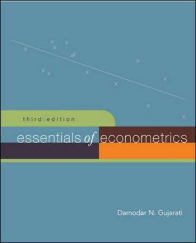 Essentials Of Econometrics