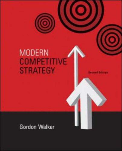 Modern Competitive Strategy by Gordon Walker