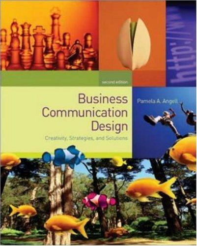 Business Communication Design & OLC Premium Content Card by Pamela A. Angell
