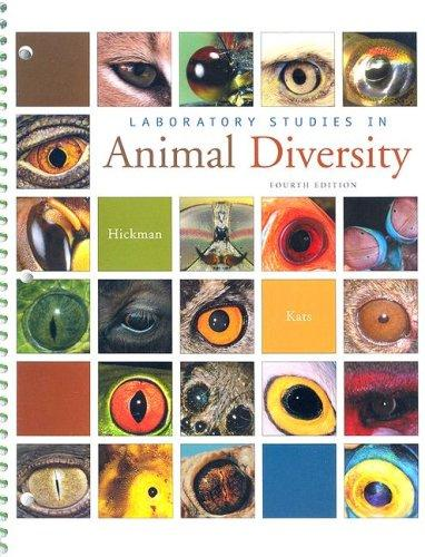 Laboratory Studies in Animal Diversity by Cleveland P. Hickman, Jr.