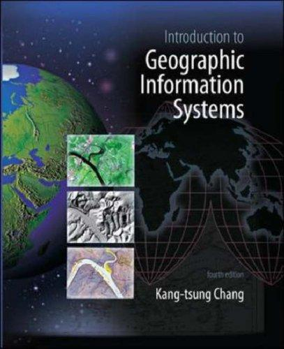 Introduction to Geographic Information Systems with Data Files CD-ROM by Kang-tsung (Karl) Chang