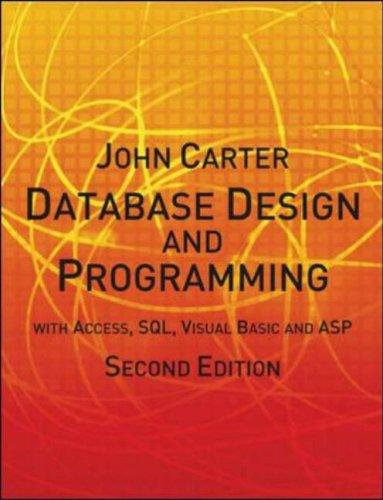 Database Design and Programming by John Carter