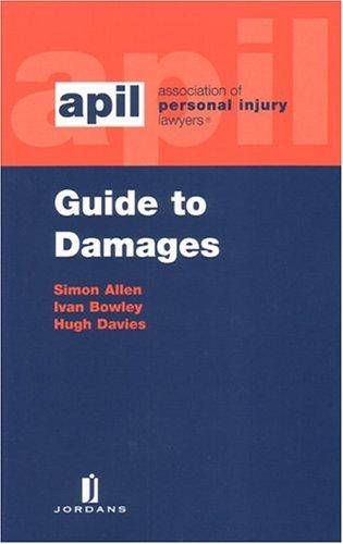 Guide to damages by Allen, Simon solicitor.