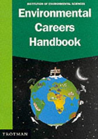 Environmental Careers Handbook by Institution of Environmental Sciences