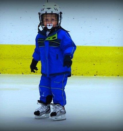 When I Grow Up I'm Going to Be a Hockey Star by Kimberly Jo Simac