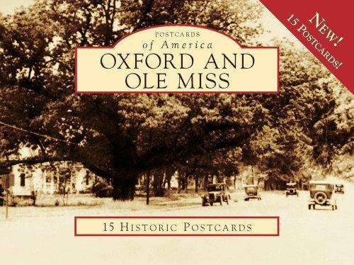 Oxford and Ole Miss (Postcard of America) (Postcards of America) by Jack Lamar Mayfield