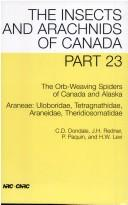 The orb-weaving spiders of Canada and Alaska by Charles D. Dondale