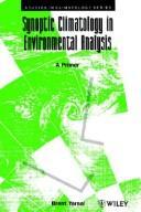 Synoptic Climatology in Environmental Analysis