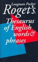 Longman Pocket Roget's Thesaurus (Viking Longman Reference) by Susan M. Lloyd