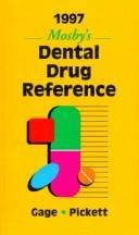 1997 Mosby's Dental Drug Reference by Frieda Atherton Pickett