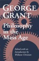 Philosophy in the mass age