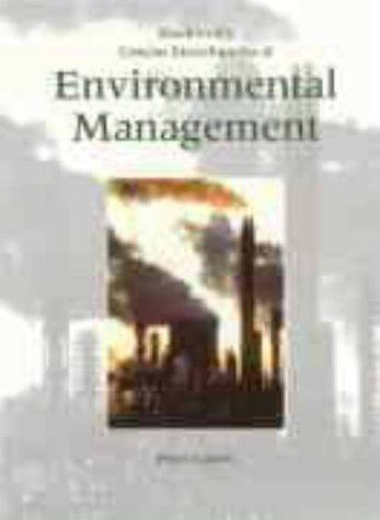 Blackwell's Concise Encyclopedia of Environmental Management by Peter P. Calow