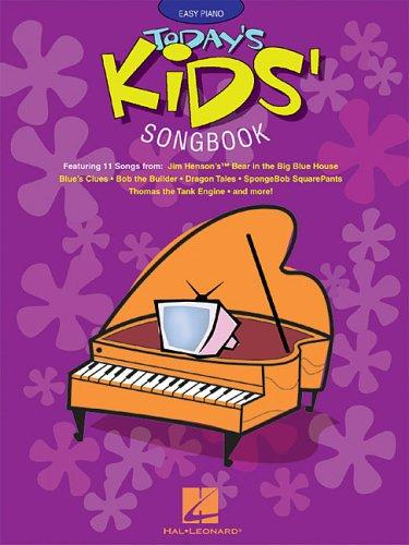 Today's Kids' Songbook by Hal Leonard Corp.