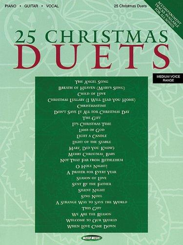 25 Christmas Duets by Bruce Inman