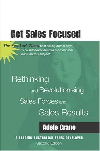 Get Sales Focused by Adele Crane