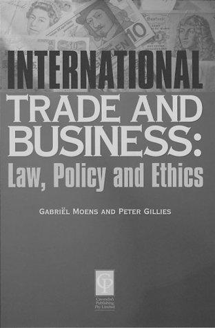 International trade and business by Gilles, Peter