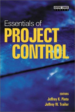 Essentials of project control by