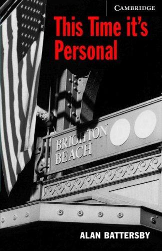This Time It's Personal Book/Audio CD Pack by Alan Battersby