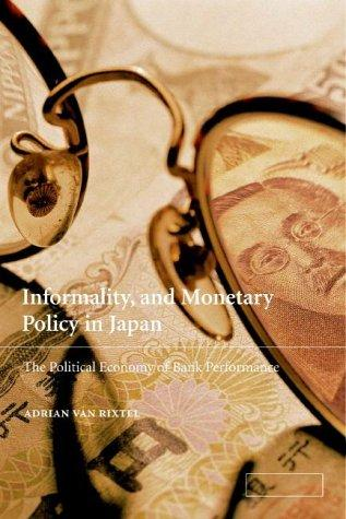 Informality and Monetary Policy in Japan