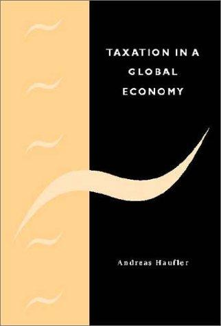 Taxation in a Global Economy