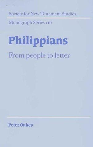 Philippians by Peter Oakes