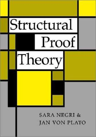 Structural proof theory by