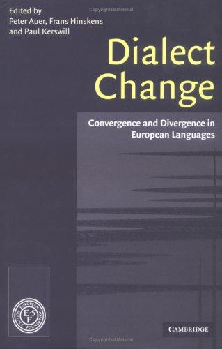 Dialect change by Auer, Peter, Frans Hinskens, Paul Kerswill