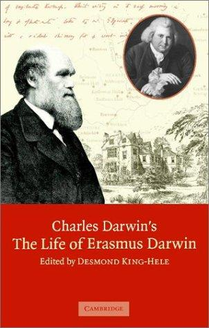 Charles Darwin's 'The Life of Erasmus Darwin' by Charles Darwin