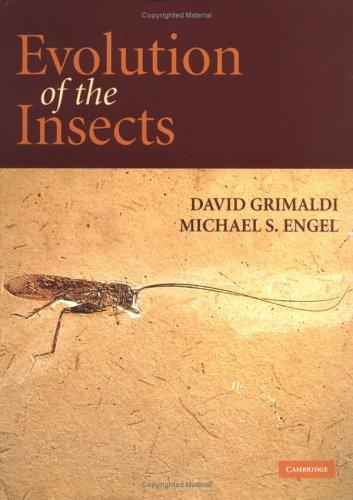 Evolution of the insects by David A. Grimaldi