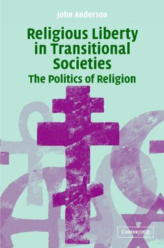 RELIGIOUS LIBERTY IN TRANSITIONAL SOCIETIES: THE POLITICS OF RELIGION by