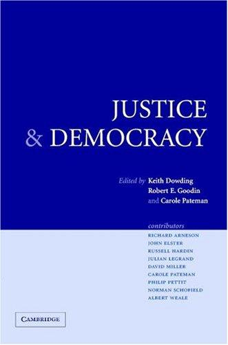 Justice and democracy by