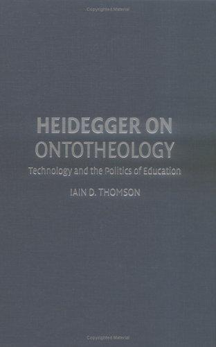 Heidegger on Ontotheology by Iain Thomson