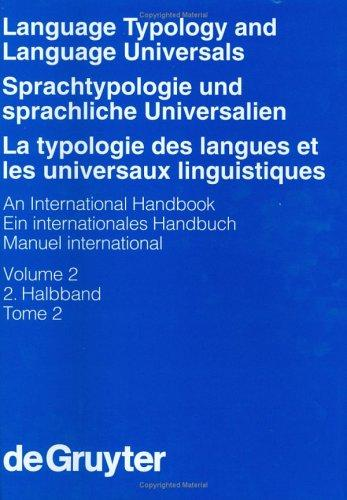 Language typology and language universals by