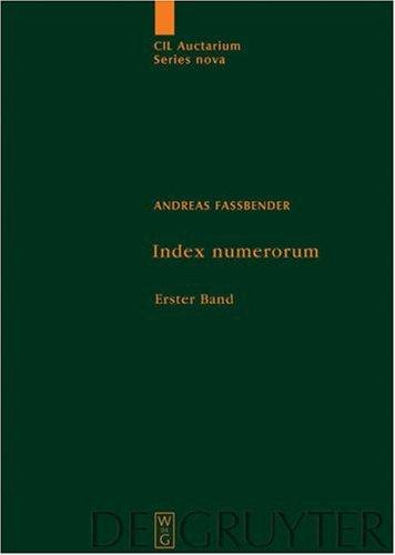 Index numerorum by Andreas Fassbender