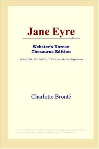 Jane Eyre (Webster's Korean Thesaurus Edition) by Charlotte Brontë